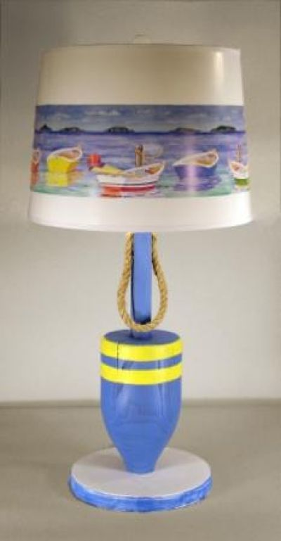 Buoy Electric Lamp w-shade 31