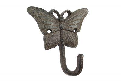 Cast Iron Butterfly Hook 6\
