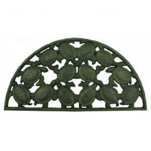 Rustic Cast Iron Turtle Doormat 25