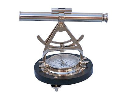 Chrome Alidade Compass 14