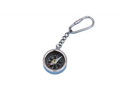 Chrome Compass Key Chain  5\