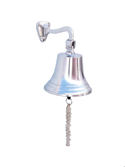 Chrome Hanging Ships Bell 9