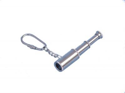 Chrome Spyglass Keychain 6