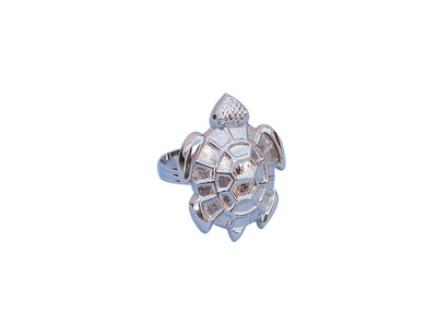 Chrome Turtle Napkin Ring 3