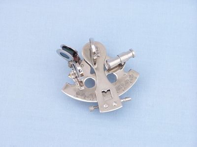 Chrome Sextant Paperweight 3