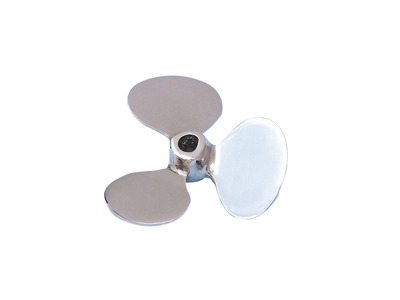 Chrome Propeller Paperweight 4