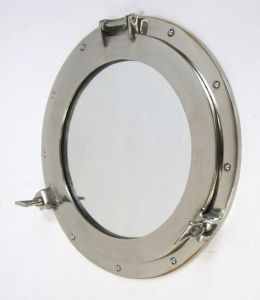 Chrome Porthole Mirror 17