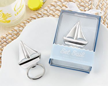 Chrome Sailboat Bottle Opener 3