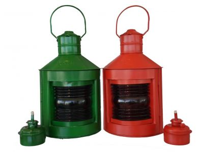 Red and Green Port and Starboard Lanterns 14