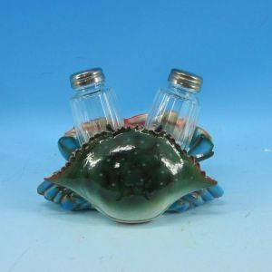 Crab Salt and Pepper Shaker Set 6