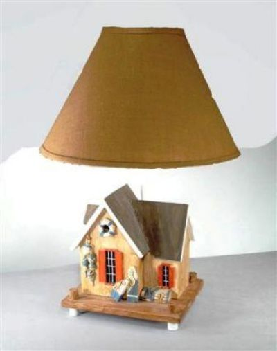 Crab Shack Electric Lamp 28