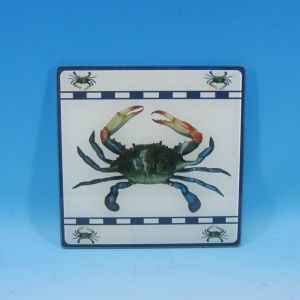 Glass Crab Trivet 8