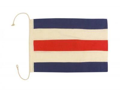 Letter C Cloth Nautical Alphabet Flag Decoration 20\