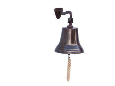 Antiqued Copper Bell 11