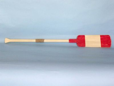 Wooden Eastern Bay Squared Rowing Oar w- Hooks - 50