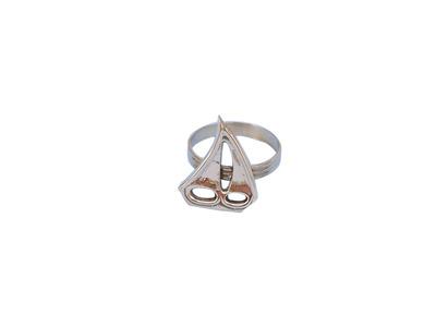 Brass Sailboat Napkin Ring 2\