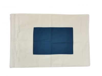 Letter S Cloth Nautical Alphabet Flag - 20