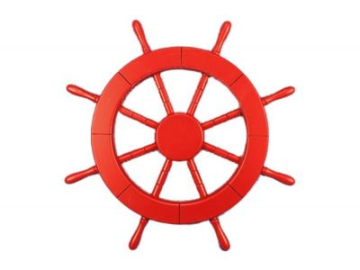 Red Ship Wheel 18