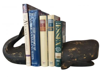 Decorative Whale Bookends 11