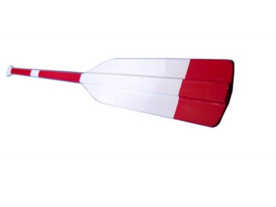 Wooden New York Athletic Club Feathered Square Paddle w- Hooks 50