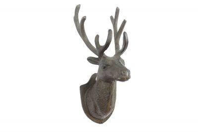 Cast Iron Deer Hook 12\