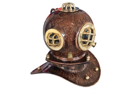Iron Embossed Divers Helmet 10