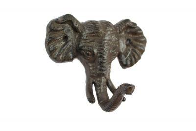 Cast Iron Elephant Hook 5\
