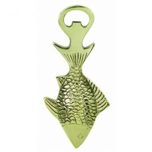 Solid Brass Fish Bottle Opener 6