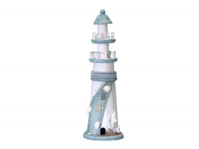 Dolphin Wooden Lighthouse 16