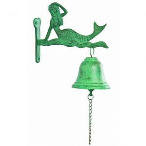 Seaworn Cast Iron Mermaid Bell 8