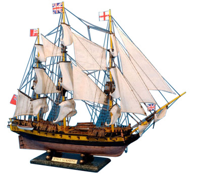 Master And Commander HMS Surprise Tall Model Ship Limited 30\