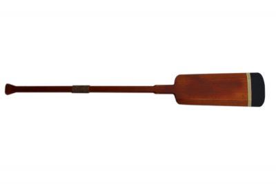 Wooden Huntington Squared Rowing Oar with Hooks 50