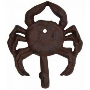 Rustic Iron Crab Key Hook 5