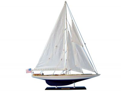 Wooden Enterprise Limited Model Sailboat 27""