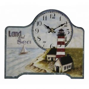Wooden Land And Sea Clock 9