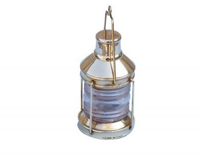 Brass Lantern Paperweight 5