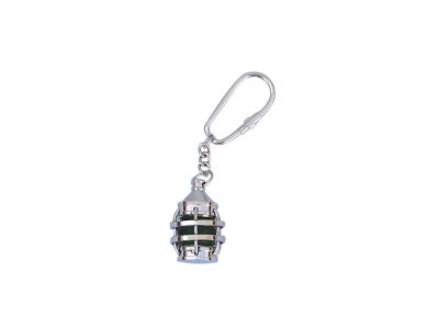 Chrome Anchor Green Lantern Key Chain 5