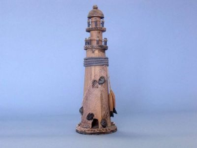 Wooden Fish Net and Rope Lighthouse 14