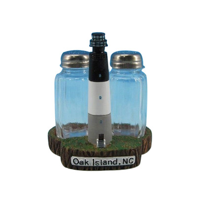 Oak Island Lighthouse Salt and Pepper Shakers 4