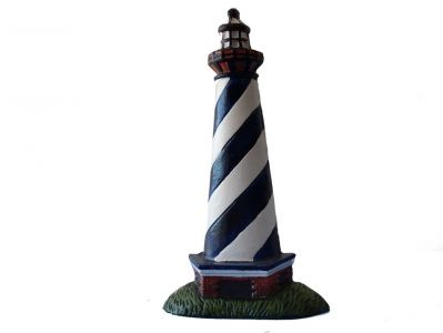 Ceramic Lighthouse Door Stop 10