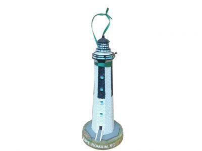 Cape Romain Lighthouse Christmas Ornament 9\
