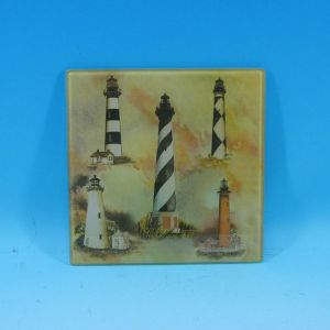 Glass Lighthouse Trivet 8