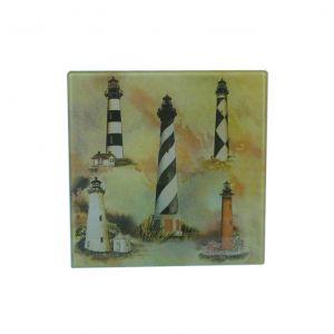Glass Lighthouse Trivet 8
