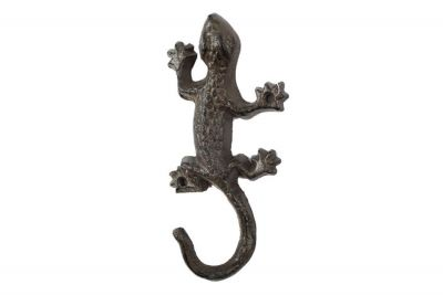 Cast Iron Lizard Hook 6\
