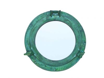 Brass Deluxe Class Titanic Shipwrecked Decorative Ship Porthole Mirror 12\