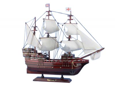 Wooden Mayflower Tall Model Ship 20\