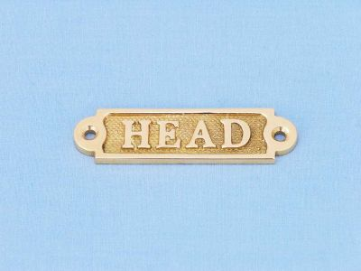 Brass Head Sign 5