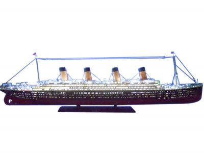 Ready To Run Remote Control RMS Titanic 72 Limited w-LED Lights