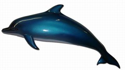 Blue Porpoise Marine Mammal Replica 36