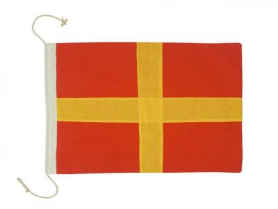 Letter R Cloth Nautical Alphabet Flag Decoration 20\